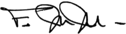 father johns signature