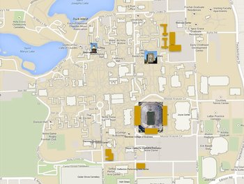 2014 Faculty Address Map