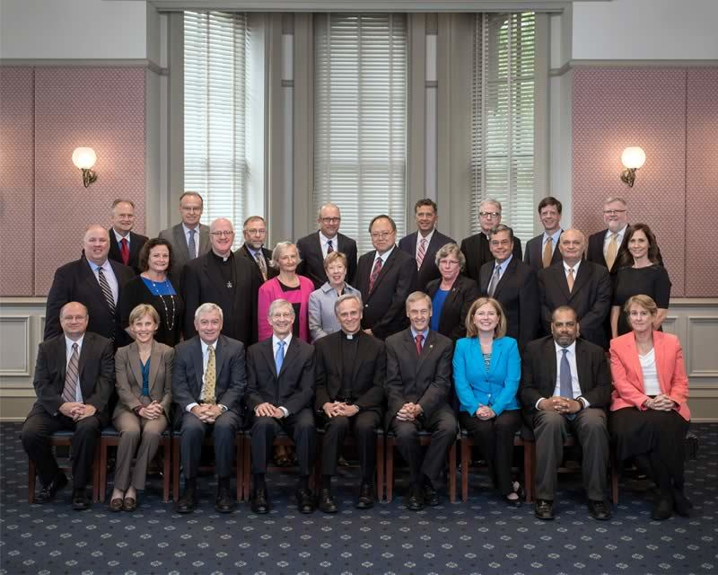 2015 President's Leadership Council and Deans