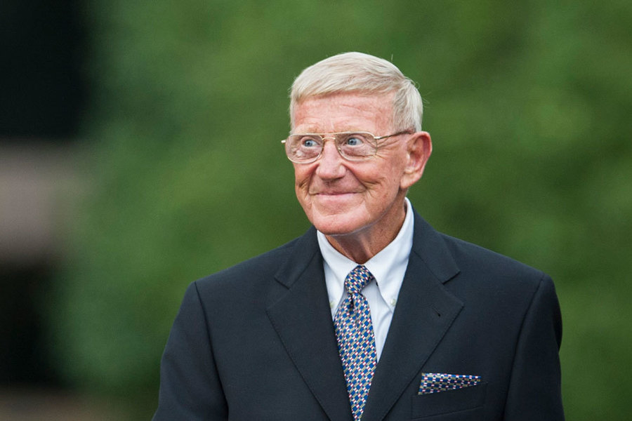 Lou Holtz Feature